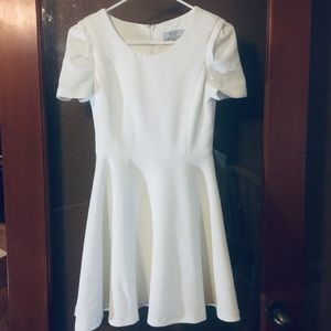 Six Crisp Days fit flare short sleeve Skater Dress